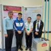 นักศึกษาภาควิชาคอมพิวเตอร์ ที่ได้รับรางวัลที่ 1 การนำเสนอแบบบรรยาย และการนำเสนอแบบโปสเตอร์